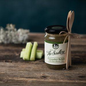The Scullery Cucumber elderflower relish